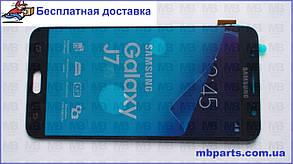 Дисплей с сенсором Samsung J710 Galaxy J7 Black оригинал, GH97-18855B, фото 2