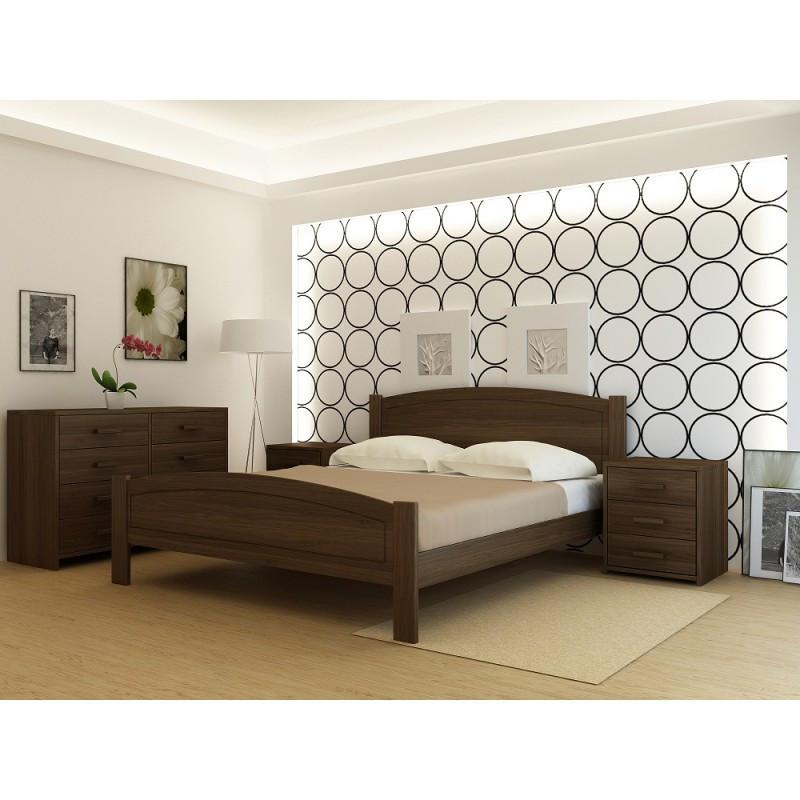 """Кровать деревянная TM """"YASON"""" Barcelona (Массив Ольхи либо Ясеня)"""