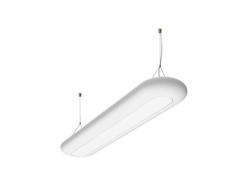LED подвесной светильник с рассеивателем из полиэтилена IP40, Световые технологии PHANTOM LED 70 3000K [1246000020]