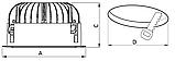 LED светильники IP20, Световые технологии DL POWER LED 40 D80 3000K [1170002400], фото 3