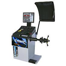 Балансировочный станок BOGUL с автоматическим измерением, УЗ-сонаром и лазерным указателем ANDRMAX