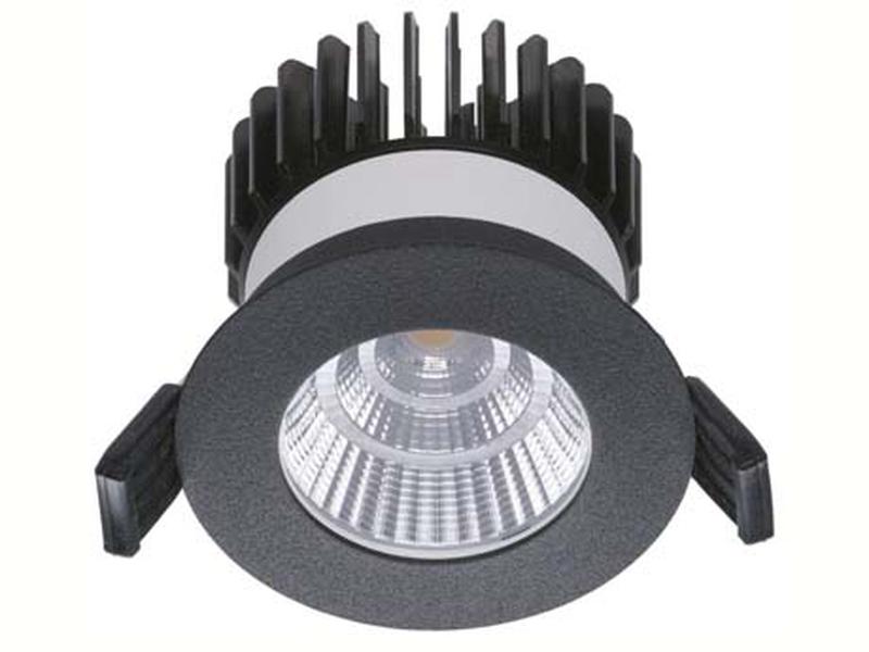 LED встраиваемый светильник IP20, Световые технологии QUO 07 BL D45 3000K [1507000410]