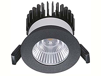 LED встраиваемый светильник IP20, Световые технологии QUO 07 BL D45 3000K [1507000410], фото 1