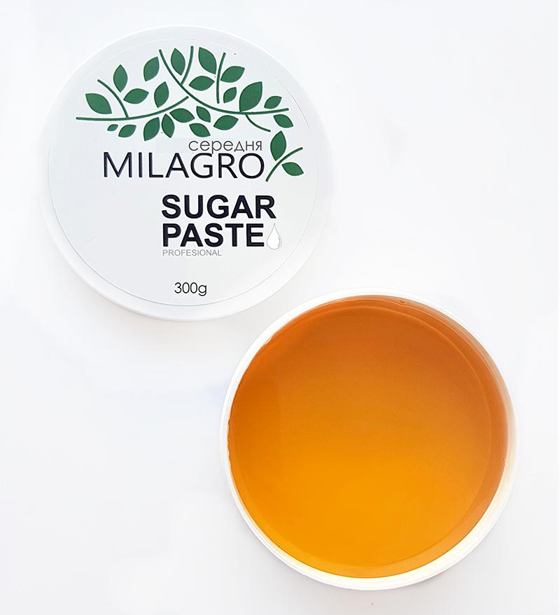 Сахарная паста для шугаринга Milagro Средней жёсткости 300 г (vol-167)