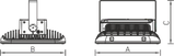 LED накладные светильники IP66, Световые технологии INSEL LB/S LED 100 D140 5000K [1334000390], фото 3