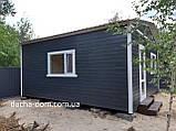 Дачный домик 6м х 6м ,  2 ЭТАЖА  с КРЫЛЬЦОМ  из БЛОКХАУСА, фото 8