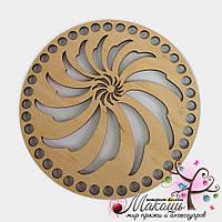 Круглая заготовка Ажурная, диаметр 15 см, №27