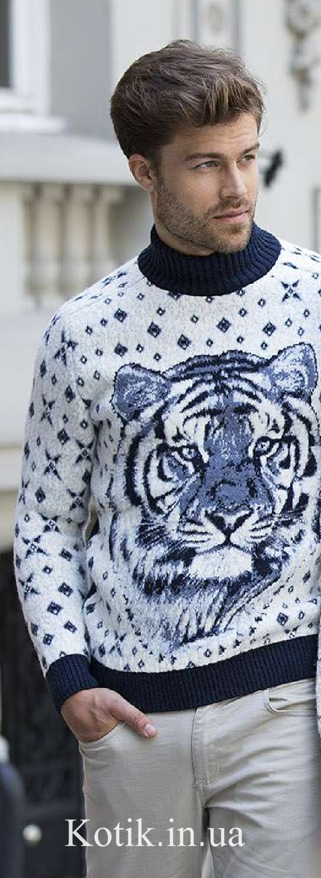 Свитер мужской Pulltonic Tiger