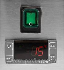 Вітрина холодильна настільна 6хGN 1/3 YatoGastro YG-05330, фото 3