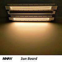 100W фитосветильник для растений Sun Board ,Samsung lm561c, 3500K