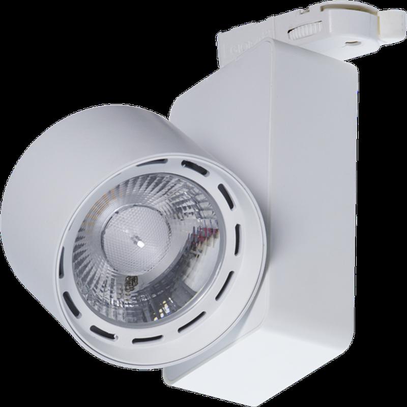 LED Трековый светильник IP20, Световые технологии TIDY T 18 WH D45 3000K [1444000070]