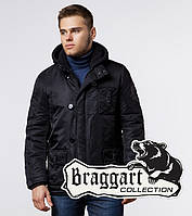 Braggart Arctic 17197 | Парка зимняя черная, фото 1