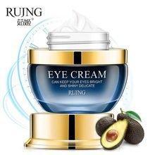 Крем для кожи вокруг глаз c авокадо RUJNG Six Peptide Eye Cream (25г)