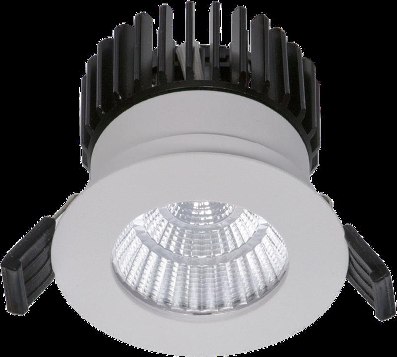 LED встраиваемый светильник IP65, Световые технологии QUO IP65/IP20 07 WH D45 3000K [1507000040]