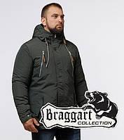 Braggart Arctic 43015 | Парка зимняя для мужчин хаки, фото 1
