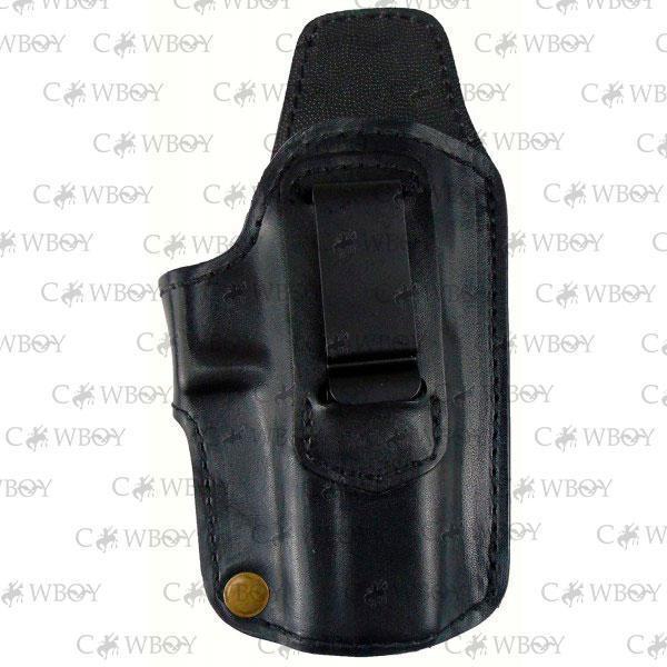 Медан 1114 поясная кобура для Stalker 917, кожаная трехслойная со скобой