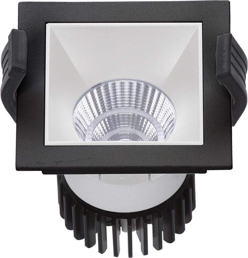 LED встраиваемый светильник IP20, Световые технологии SOON 07 BL/WH D45 3000K [1442000130]