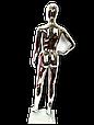 Манекен женский серебро, фото 3