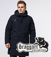Braggart Arctic 23675 | Зимняя мужская парка темно-синяя, фото 1