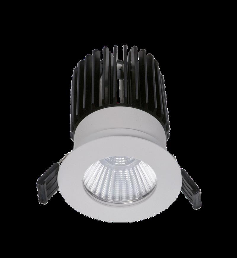 LED встраиваемый светильник IP20, Световые технологии QUO 13 WH D45 4000K [1507000180]