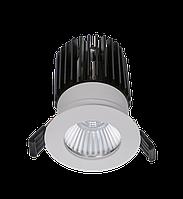 LED встраиваемый светильник IP20, Световые технологии QUO 13 WH D45 4000K [1507000180], фото 1