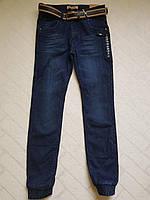Утеплённые,ДЖИНСОВЫЕ брюки ДЖОГГЕРЫ для мальчиков ,.Размеры 134-164 см см.Фирма GRACE.Венгрия, фото 1