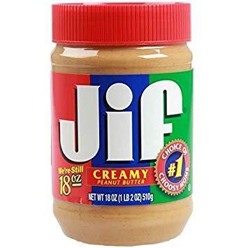 Арахисовое масло Jif Creamy Peanut Butter 454 g