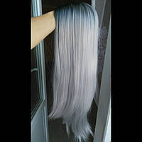 Парик пепельный блонд длинные волосы