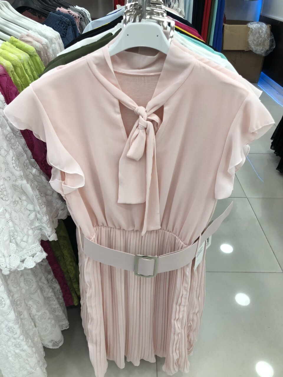 Красивое платье шифон