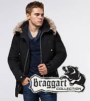 Braggart Arctic 15231 | Парка мужская зимняя черная, фото 1