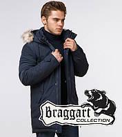Braggart Arctic 20758 | Мужская парка с опушкой синяя, фото 1