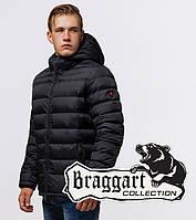 Braggart Aggressive 25490 | Мужская зимняя куртка черная, фото 1