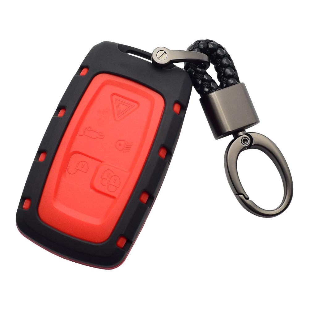 Силиконовый чехол с матовым ABS каркасом для ключа Range Rover Discovery,Evoque,Freelander,Land,Sport