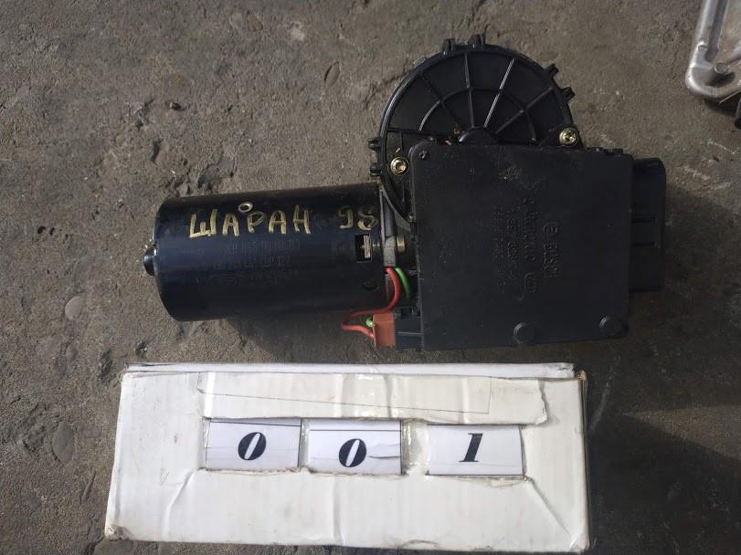 №1 Б/у моторчик стеклоочистителя для Volkswagen Sharan 1996-2000
