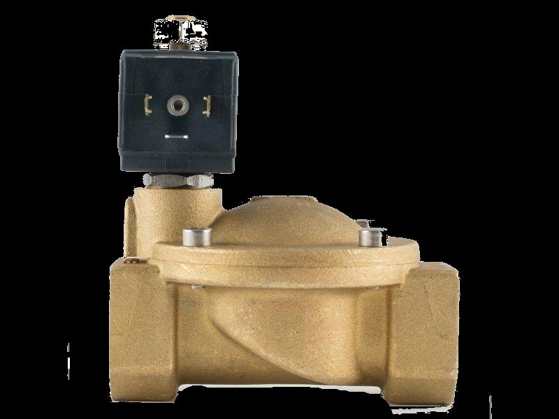 """Клапан 1"""", нормально-відкритий, 8716 NBR 230V 50 Hz, соленоїдний електромагнітний, CEME, Італія"""