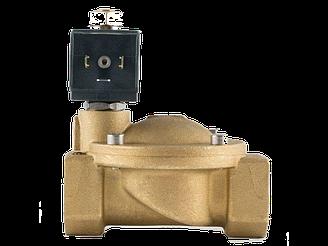 """Клапан 1"""", нормально-открытый, 8716 NBR 230V 50 Hz, электромагнитный соленоидный, CEME, Италия"""