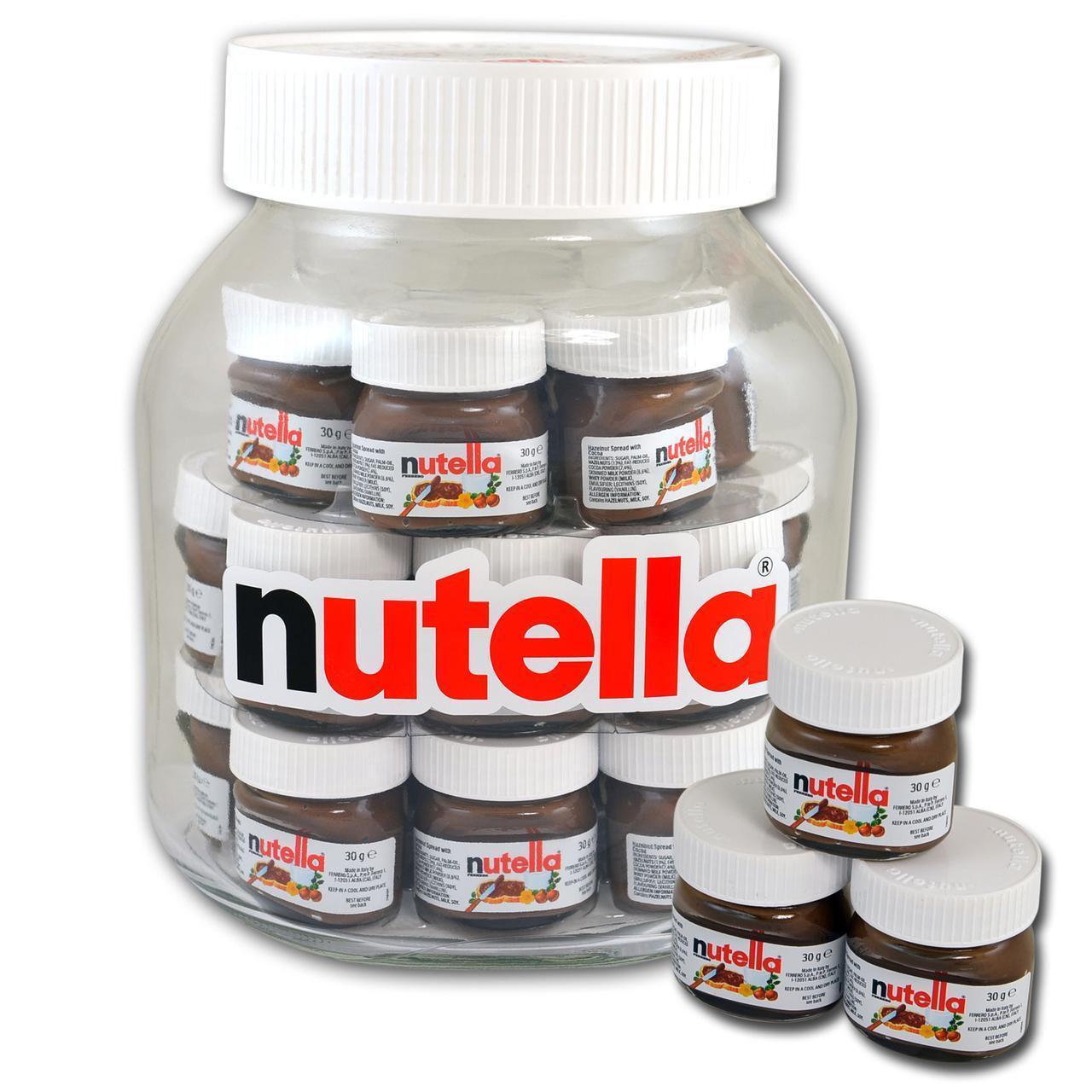 Подарочный набор Nutella Hello World