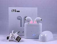 Наушники беспроводные Bluetooth airpodS Apple i7S айфон 7 8