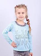 Блуза детская Котятки