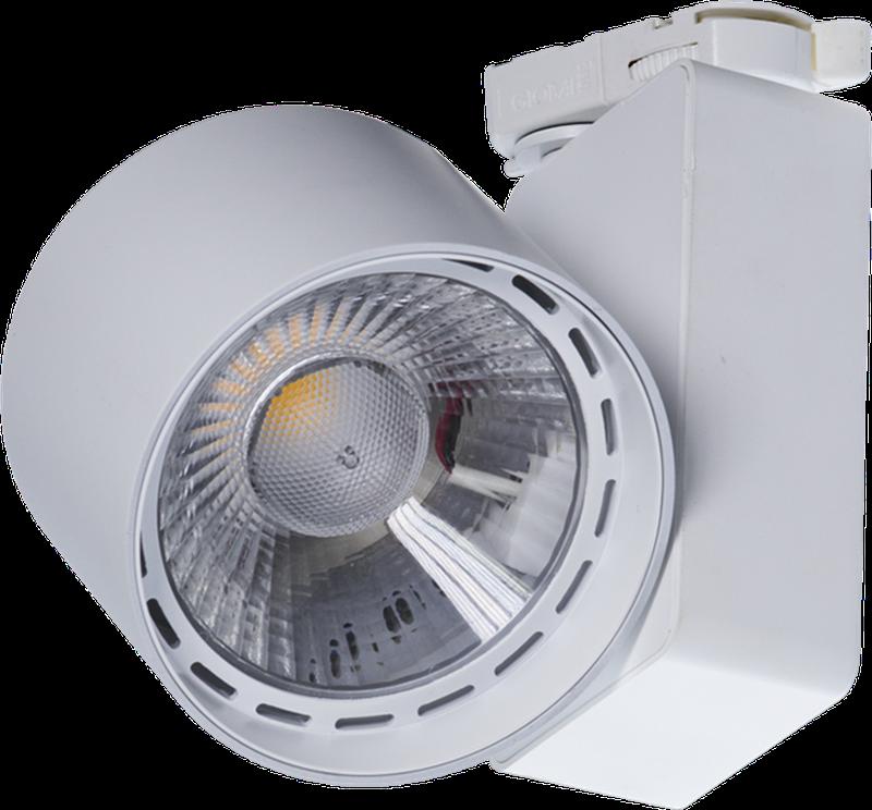 LED Трековый светильник IP20, Световые технологии TIDY T 33 WH D45 3000K [1444000010]