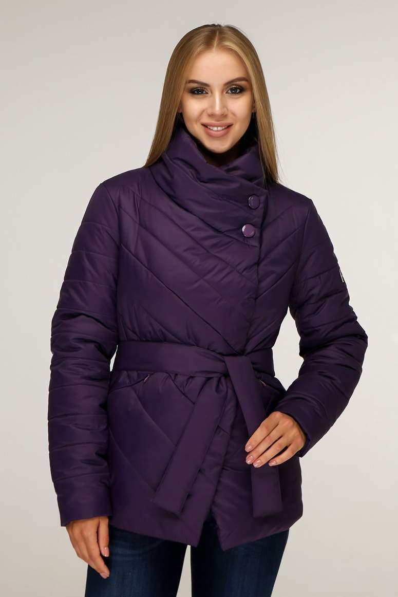Демісезонна жіноча курточка з плащовки