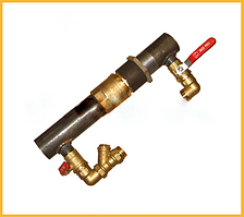 Байпас 40 мм (короткий,обратный клапан)