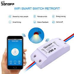 Sonoff Basic  - Wifi реле для удаленного управления электро приборами