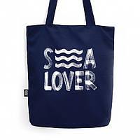 """Эко торба, """"Sea lover"""", эко сумка, крутая, пляжная сумка!"""