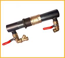 Байпас 50 мм (короткий,обратный клапан)