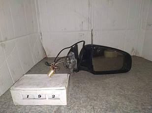 №192 Б/у зеркало боковое правое для Audi A4 2001-2004