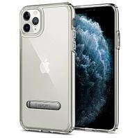 Чехол Spigen для iPhone 11 Pro Max Ultra Hybrid S, Crystal Clear (075CS27137), фото 1