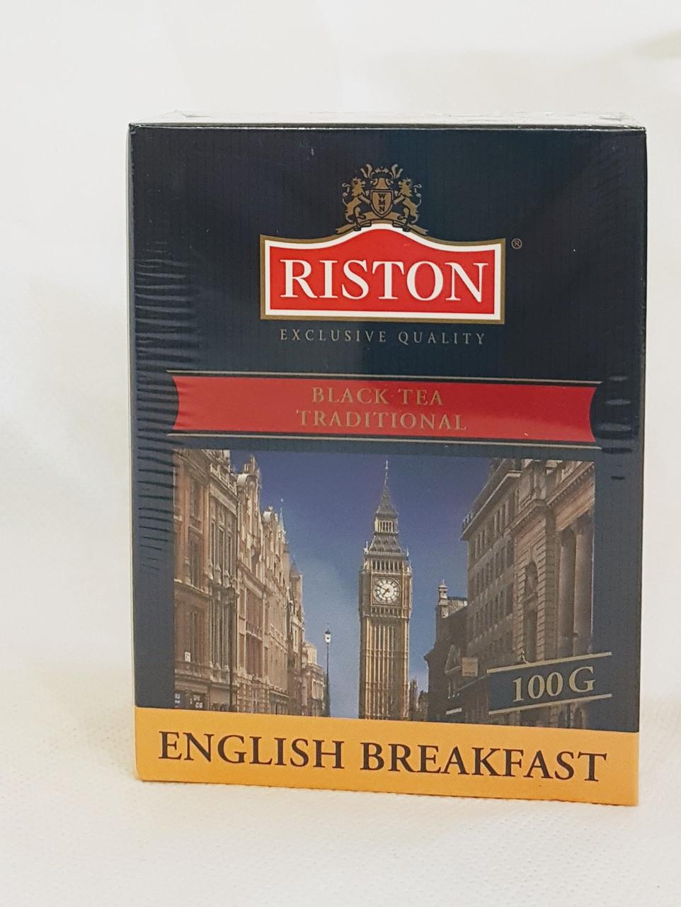 Чай черный листовой Ристон Английский завтрак 100 г