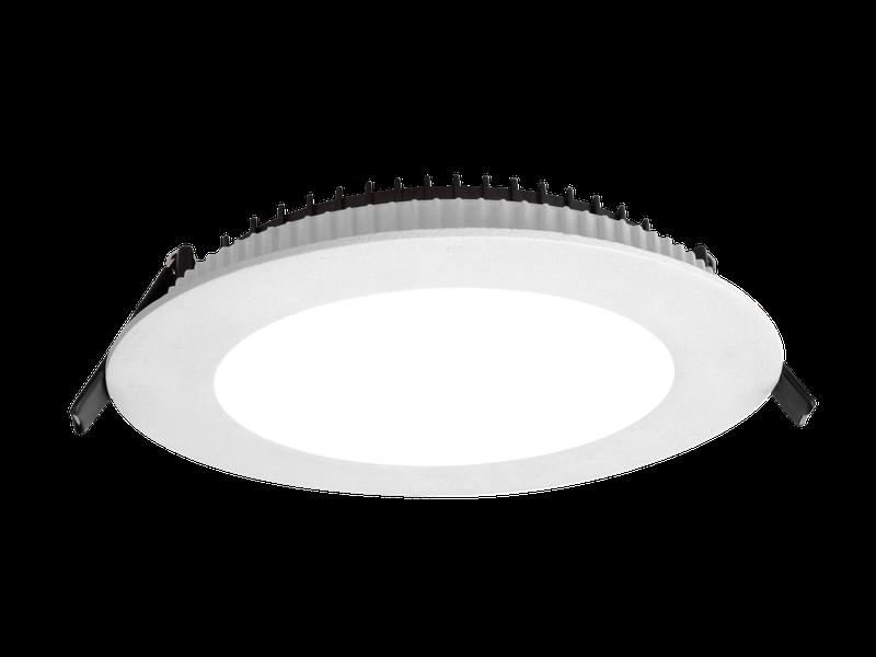 LED встраиваемый светильник IP54, Световые технологии ACQUA C 18 WH 4000K EM [1596000350]