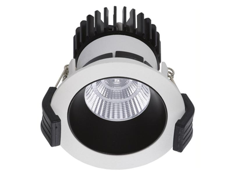 LED встраиваемый светильник IP20, Световые технологии COOL 13 WH/BL D45 3000K [1412000240]